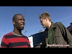 Blacks On Boys - Interracial Gay Hardcore Bareback Fuck Video 13
