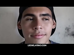 Hot young straight Latino twink paid to get fucked-LECHELATINO.COM