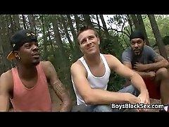 Blacks On Boys - Skinny White Gay Boy Fucked By BBC 14