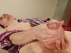 Logan Casey Gay Solo Masturbation
