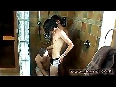 Emo boy kinky videos and foreigner fucks gay twink Jizz dangles from