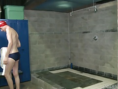 Cock Virgins Locker Room Shower Sex