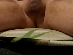 Boy shooting his cum