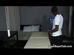 Blacks On Boys - Gay Hardcore Interracial Fuck Video 19
