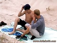 Twinks boy gay xxx Roma and Archi Outdoor Smoke Sex!