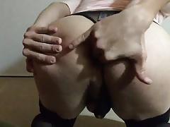 3 fingers - one ass