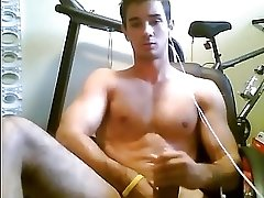 Muscle Twink Cum