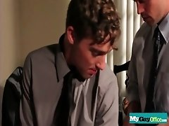 Latin twink barebacked on office desk 20