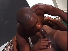 Stud rides dudes ass in bed and cums