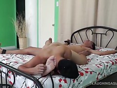 Rolly Gets Tickled And Jizzed On