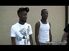 Blacks On Boys - Gay Black Dude Fuck WHite Teen Boy Hard 01