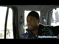 Blacks On Boys - Gay Hardcore Bareback Interracial Porn Video 11
