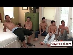 Bukkake Boys - Gay Hardcore Sex from wwwGayzFacial.com 12