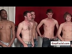 Bukkake Boys - Gay Hardcore Sex from wwwGayzFacial.com 27