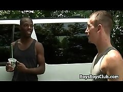 White Gay Dude Has Some Manly Fun With A Black Guy 11
