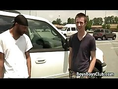White Gay Dude Has Some Manly Fun With A Black Guy 04