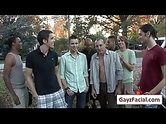 Bukkake Boys - Gay Hardcore Sex from wwwGayzFacial.com 02