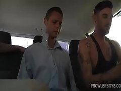 Reece and Adam Spit Roasting Young Aiden
