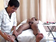 Twink Asian Boy Josh Tied and Tickled